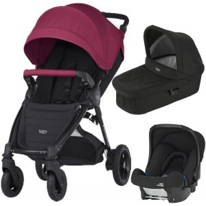 Britax B-MOTION 4 PLUS v setu s autosedačkou 2019/2020 Wine Red