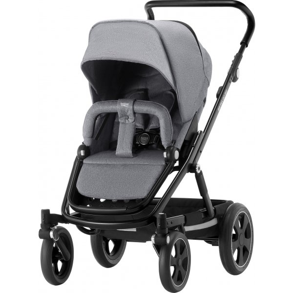 Britax Go Big 2 kočárek 2018 Grey Melange/Black