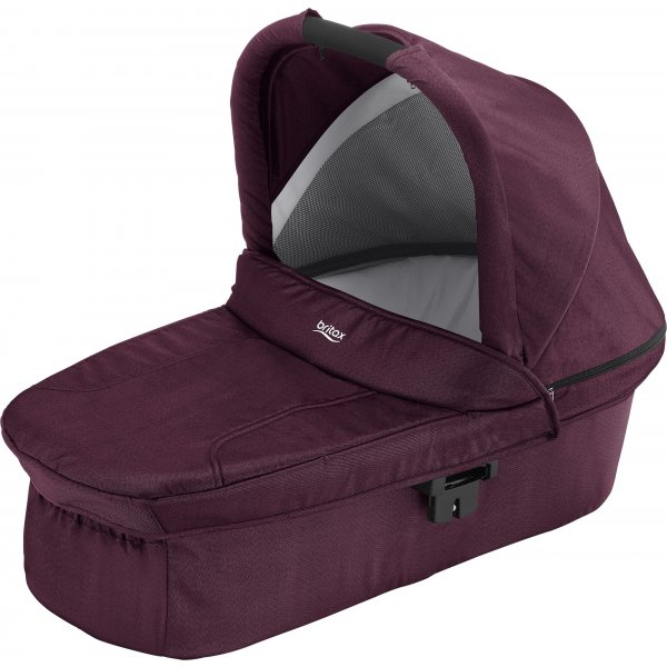 Britax Hluboká korba ke kočárku B-Agile/B-Motion/Smile/B-Ready 2019 Wine Red Denim