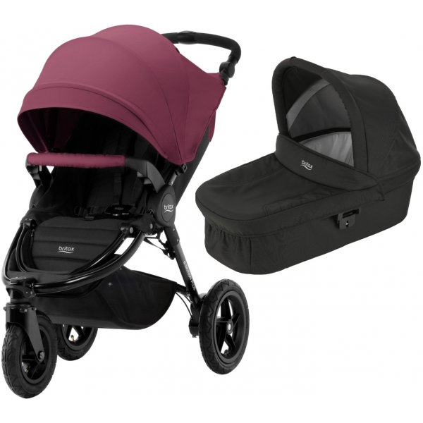 Britax B-Motion 3 PLUS + korba 2019/2020 Wine Red