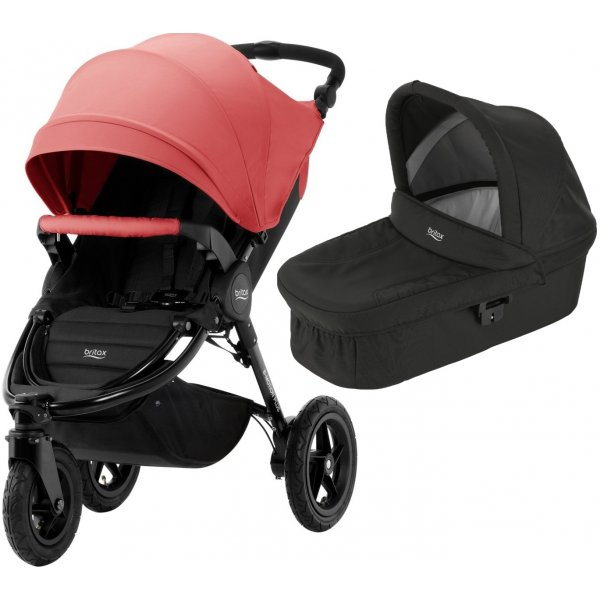 Britax B-Motion 3 PLUS + korba 2019/2020 Coral Peach