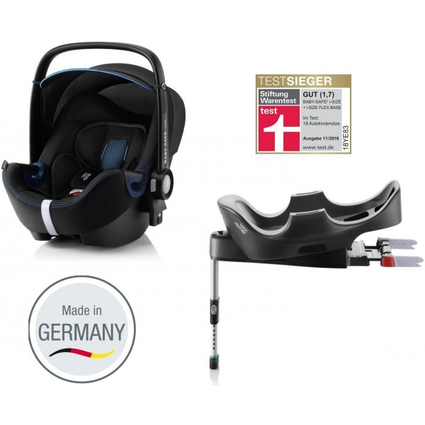 Römer Autosedačka Baby-Safe 2 i-Size Bundle Flex, Cool Flow 2020 Blue